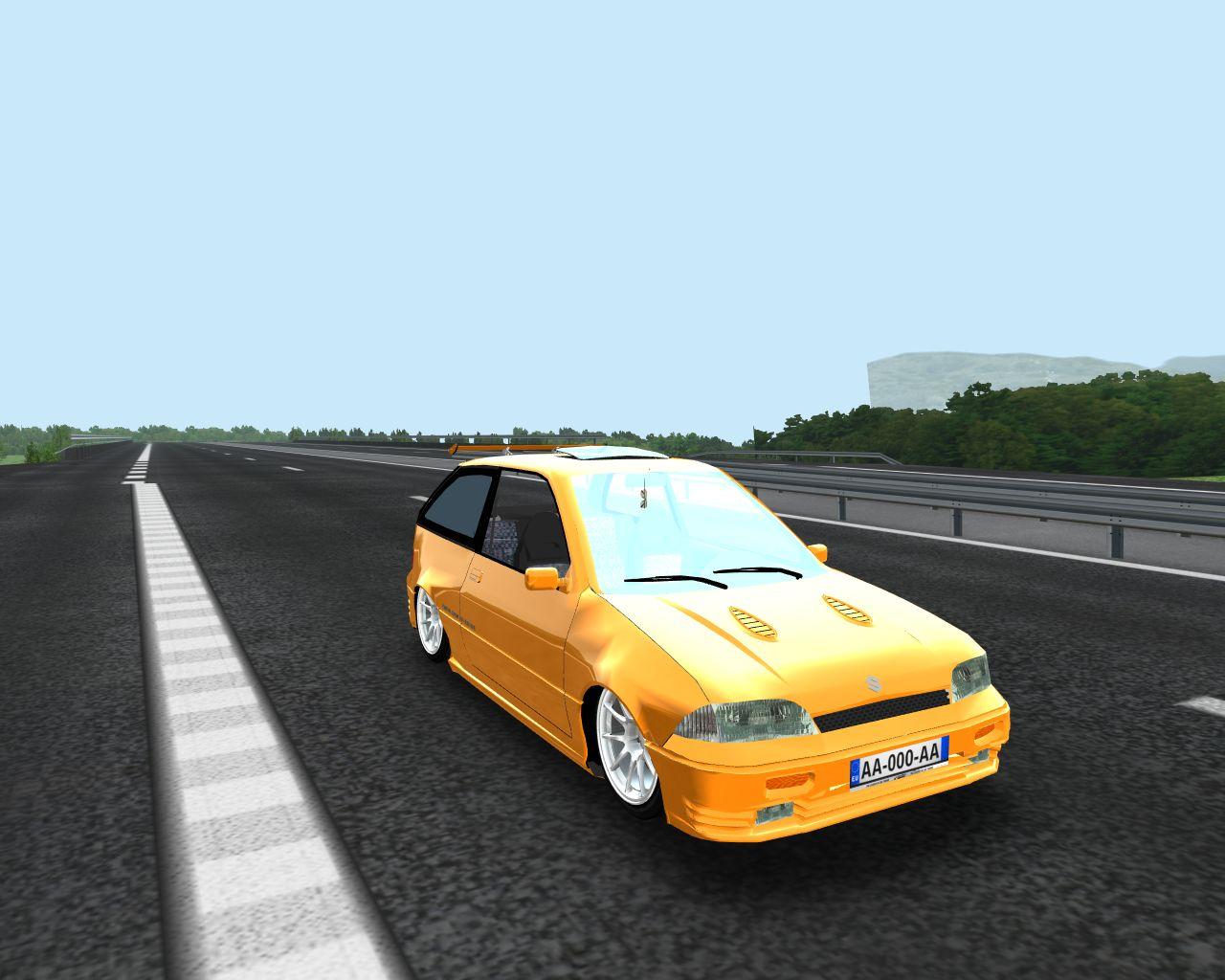 Suzuki Swift Mk2 GTi - Tracciontrasera