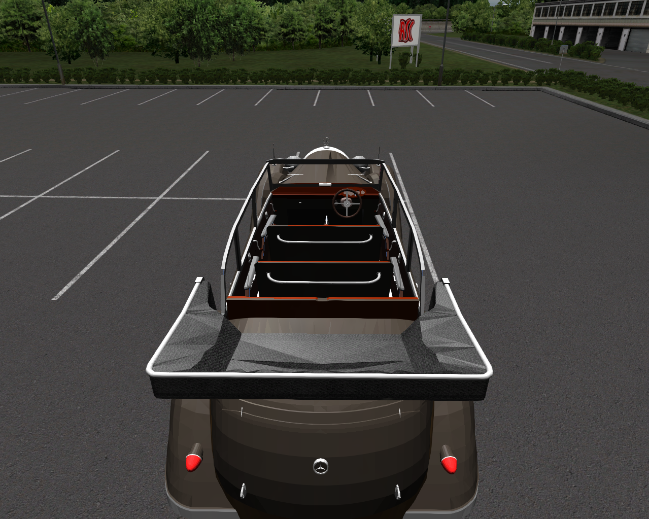 Mercedes benz w07 770k 1930 tracciontrasera es simuladores