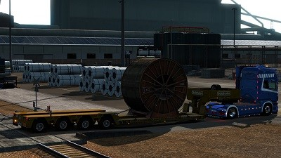 ETS 2 big load cargo