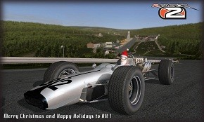 rFactor 2 Happy Christmas